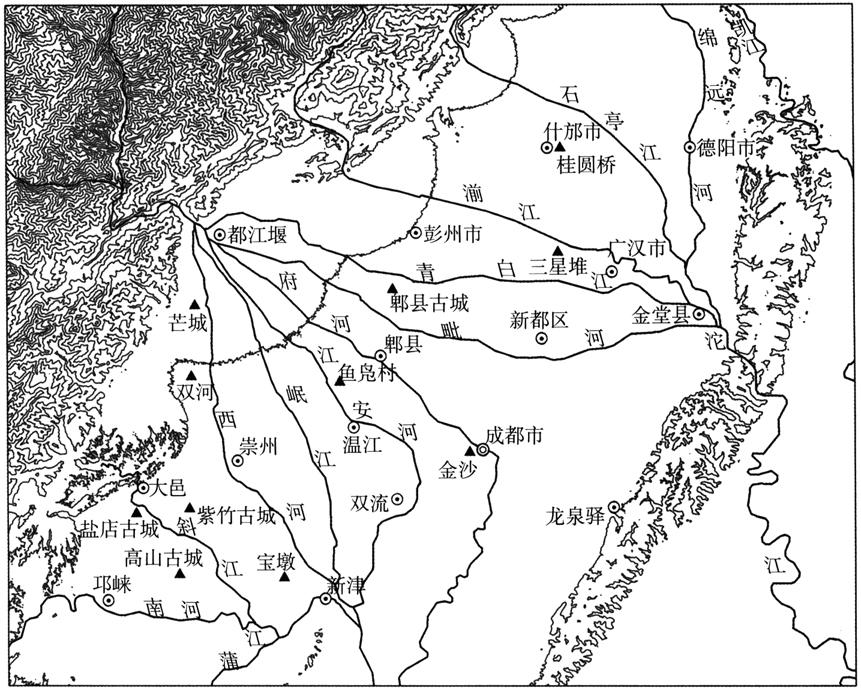 成都平原先秦聚落变迁分析